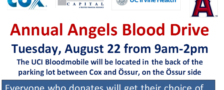 First National Gives Back: The Angels Blood Drive