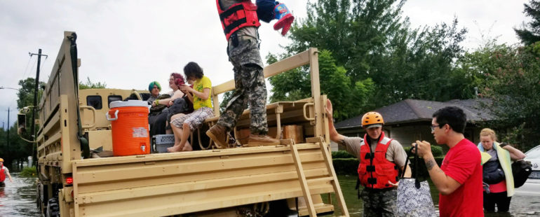 Harvey Relief: First National lives its commitment to community